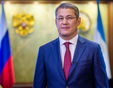 Радий Хабиров поздравил жителей Башкортостана с Новым годом