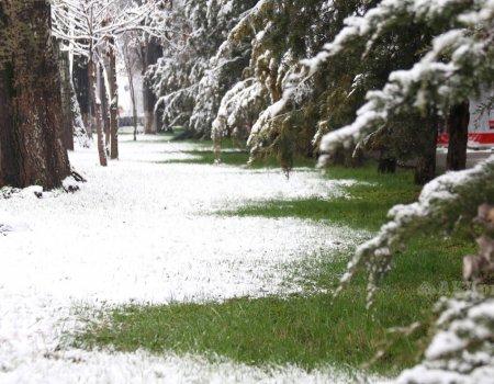 В Башкортостане в выходные ожидается снег